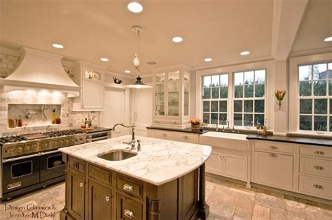 distressed kitchen cabinets pictures beautiful colonial remodel ottawa hillls 6785