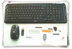 Original New Hp 5189urf 2 4ghz Pc Wireless Keyboard