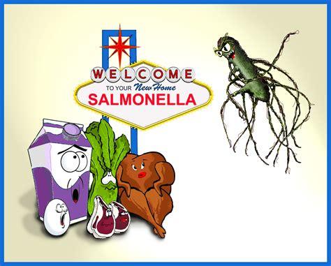 Salmonella Infection Icons In Medicine