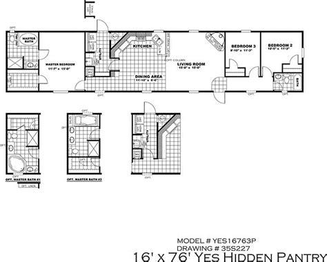 16x80 mobile home floor plans stunning 16x80 mobile home floor plans ideas flooring