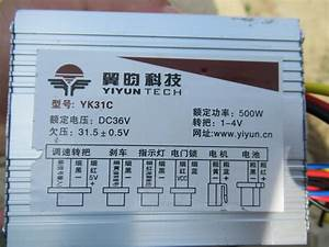 Schaltplan E Bike Controller