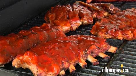 bbq grill  barbeque ribs allrecipes youtube