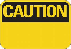 Fill In Your Own Text Caution Sign Clip Art at Clker.com ...