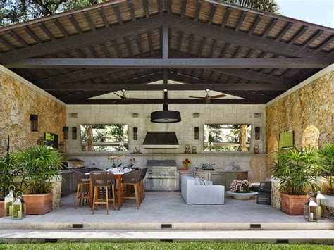 Large Patio Designs by Large Luxury Outdoor Kitchen Florida Patios Outdoor