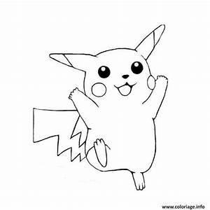 Dessin Citrouille Facile : coloriage pikachu facile dessin ~ Melissatoandfro.com Idées de Décoration