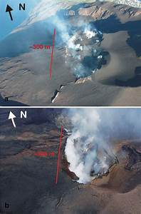 A Helicopter Photo Of Stromboli Summit Taken From Sw On 20
