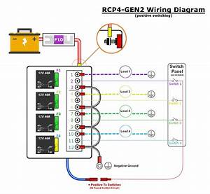 Automotive Relay Panels  U2014 Choose 4  6  Or 8 Relays