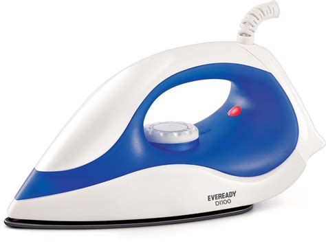 Eveready Di100 Dry Iron Price In India  Buy Eveready
