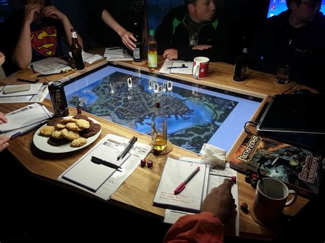 d and d table making a custom gaming table d d tabletop games