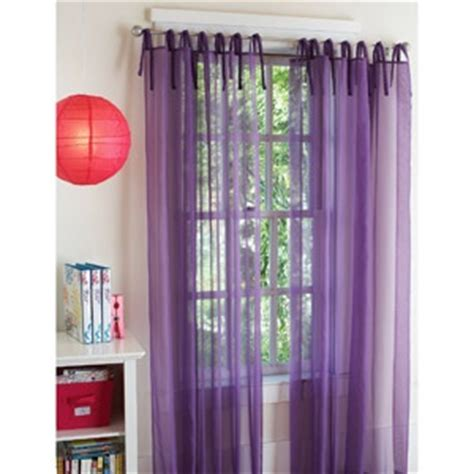 Purple Sheer Curtains Walmart by Purple Curtains With Crimson Sheer Curtains Would Be