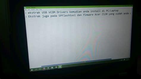 Penulisan Di Lop Lamaran by Cara Memperbaiki Hp Bootloop Acer Simak Gambar Berikut