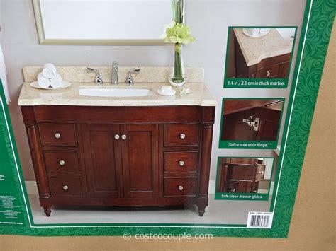 lanza products   single sink wood vanity