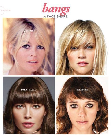 bangs  face shape hair hacks hair styles square face