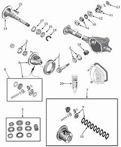 Dana 44 Front Axle Diagram