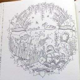 enchanted forest  inky quest coloring book johanna basford  amazoncom
