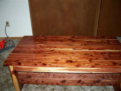 cedar coffee table  ace  lumberjockscom