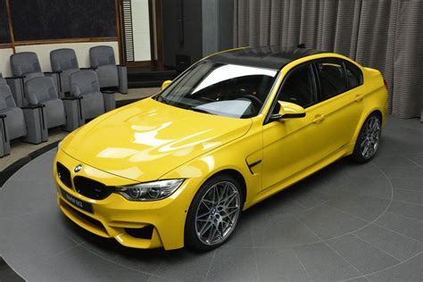 Speed Yellow Bmw M3 In Speed Yellow Arrives In Abu Dhabi