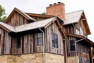 Reclaimed barn boards traditional exterior austin for Barnwood siding for sale