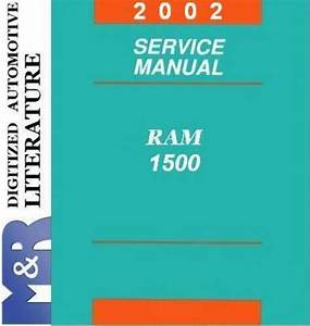 2002 Dodge Ram 1500 Service Shop Manual