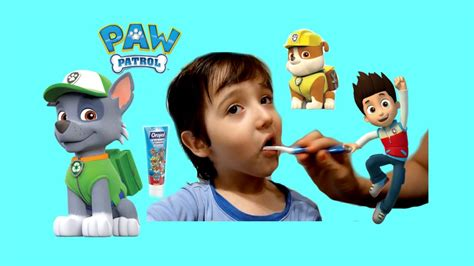 Brush Teeth Paw Patrol Sing Abc Rubble On The Double Rocky