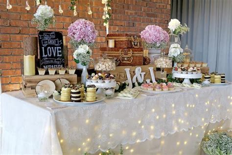 Kara's Party Ideas Rustic Romantic Wedding