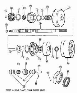 2000 Dodge Ram 2500 Drum  Automatic Transmission  Race