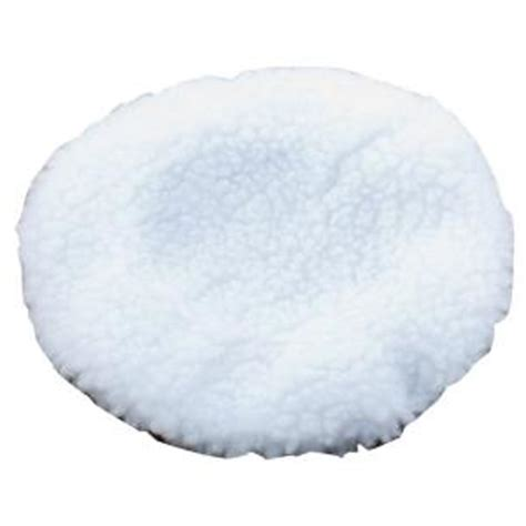 floor buffer pads home depot pro lift 6 in lambswool buffer pad cover i 4526l the