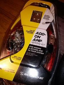 Scosche Dual Amp Add On Wiring Kit  1600 Or 1200 Watt