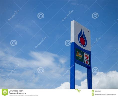 © copyright 2018, ptt oil and retail business public company limited. PTT Petrol Station Logo On Billboard Editorial Photography - Image of background, gasoline ...