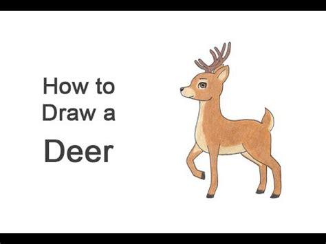 draw  deer cartoon cumseface