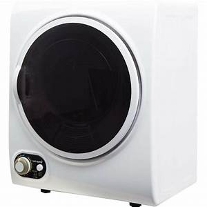 Compact 1 5 Cu Ft  Mini Electric Clothes Dryer