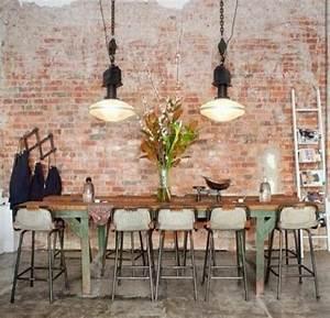 Ziegel Deko Wand : wanddeko selber machen gef lschte backsteinwand als rustikale deko industrial design ~ Sanjose-hotels-ca.com Haus und Dekorationen