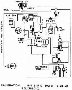 300 Vacuum Diagram - 73-79 Ford Truck