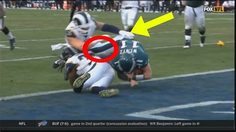 carson wentz full injury video carson wentz acl injury