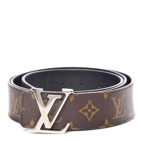 louis vuitton monogram mm lv initiales belt