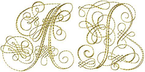gold capitals font