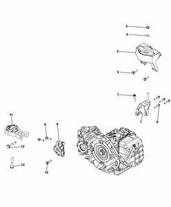 Mounting Support  Automatic Transmission For 2014 Ram