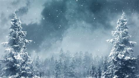 winter landscape background animation  stock footage