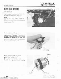 1983 1984 1985 Honda Vf700f Vf750f Interceptor Service Manual