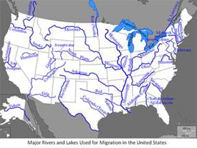 Maps - North America Geography and Colonization