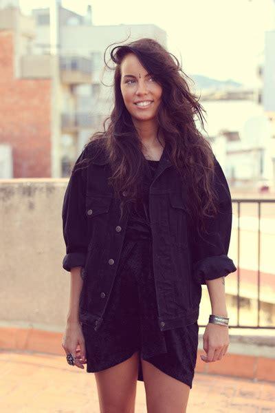 Secondhand Jackets Secondhand Dresses   u0026quot;Oversized Denim Jacketu0026quot; by fashion_hegemony   Chictopia