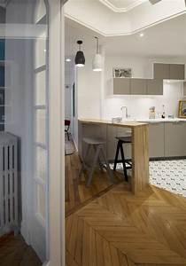 Ikea Bar Cuisine : bar en bois massif cuisine ik a carrrelage fa on carreaux de ciment plan de travail c ramique ~ Teatrodelosmanantiales.com Idées de Décoration