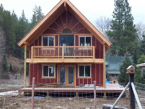 Tiny House Kit by Cabins Cottages Barns On Split Rail Fence