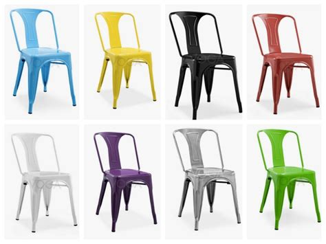 chaise tolix pas cher 20 chaises design à moins de 100 euros déco clem
