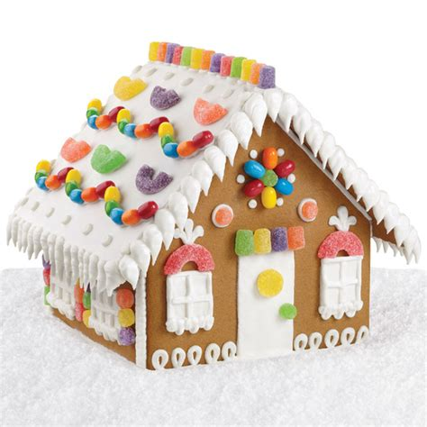cozy candy gingerbread house wilton
