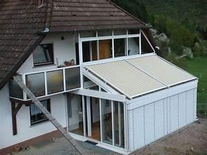 Dach Für Wintergarten : sonnenschutz f r wintergarten und terrasse waldenberg ~ Michelbontemps.com Haus und Dekorationen