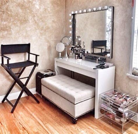 258 best Makeup Vanity Ideas images on Pinterest   Dresser, Ideas for bedrooms and Makeup rooms