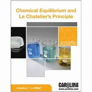 Chemical Equilibrium And Le Ch U00e2telier U2019s Principle Kit