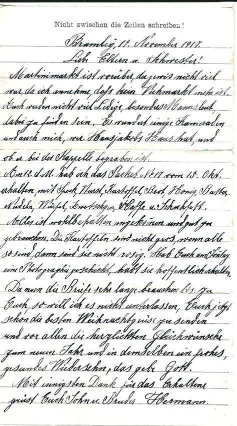 selection   ww german pow letters page