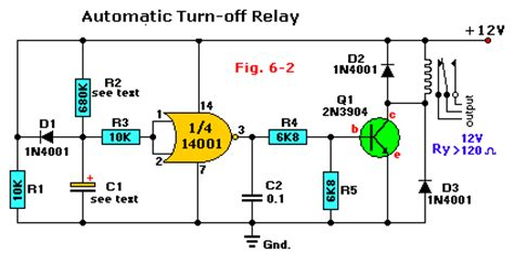 automatic turn  relay wiring diagram remote control